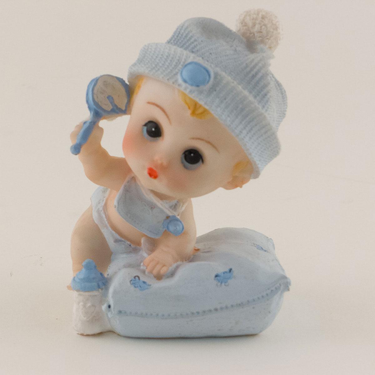 Baby Girl/Boy With Pillow Keepsake Shower Figurine Decoration Statue Gift 12 Pcs