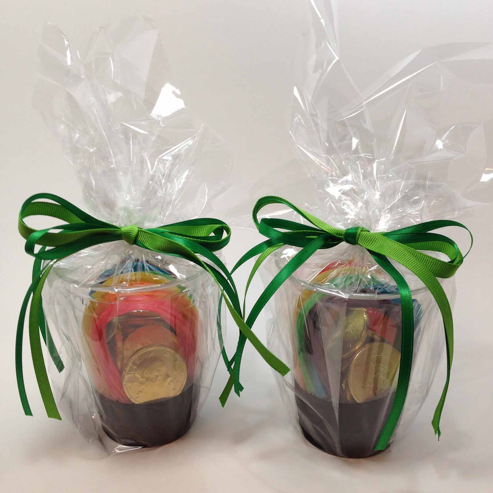 clear wrapping paper Ideal for wrapping bouquets or gift baskets simply wrap your basket, gather the plastic at the top and tie with a pretty ribbon or twist tie top off with a.