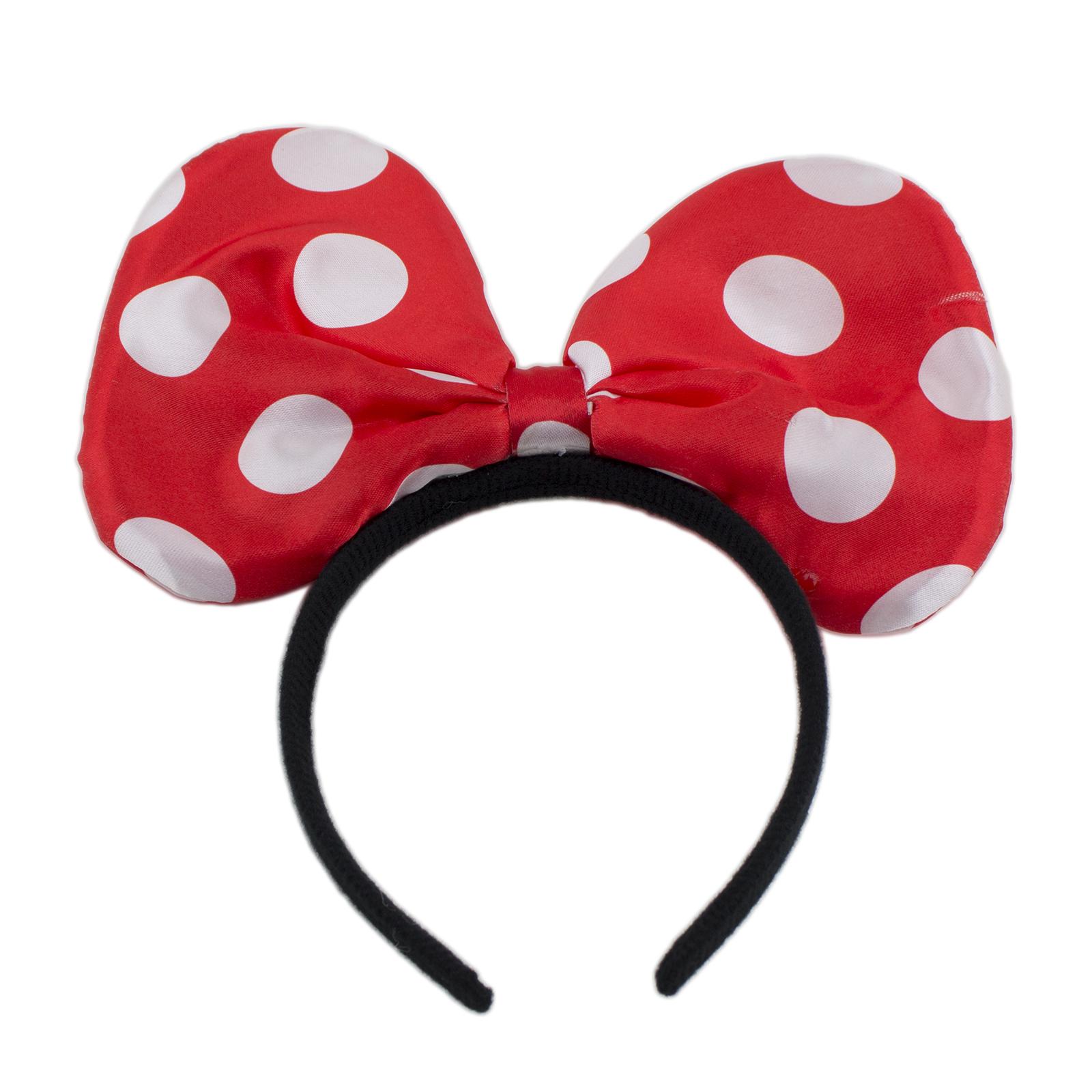 Minnie mickey mouse ears light up bow headbands flashing - Minni et mickey ...