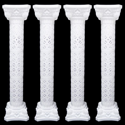 New wedding decorative plastic roman column height for Decorative columns