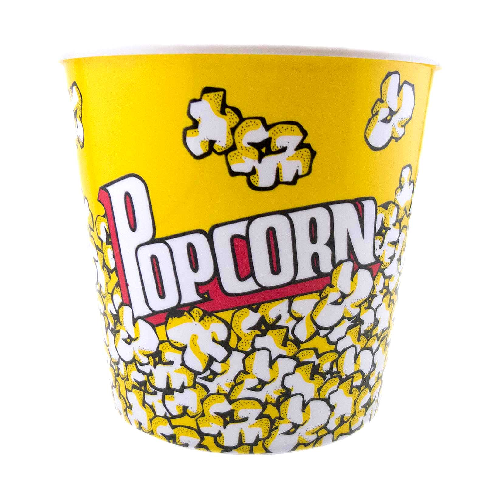 Large Reusable Plastic Popcorn Bowl Tub Container Movie