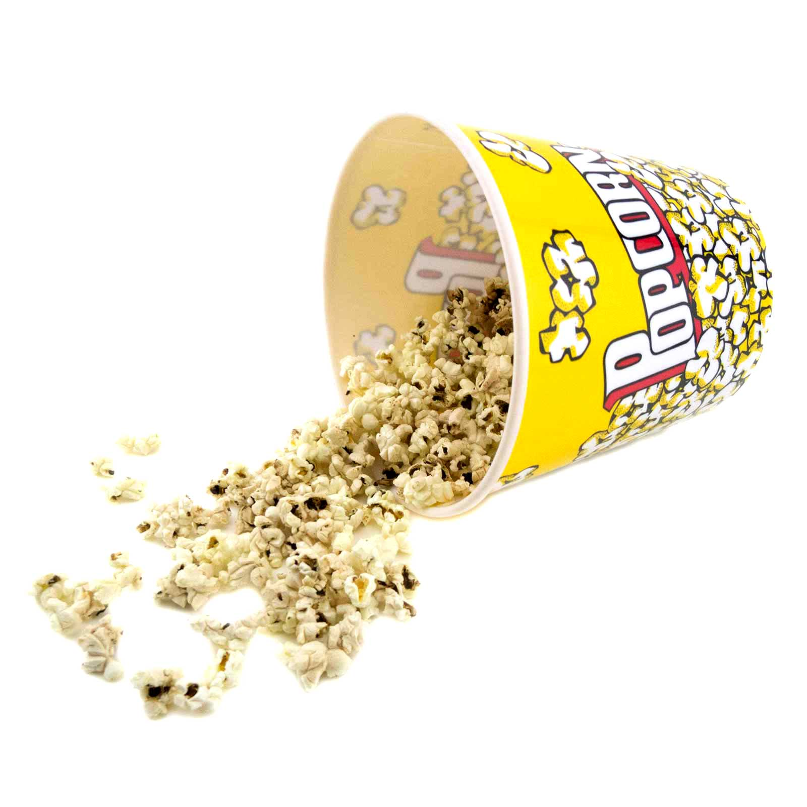 Large Popcorn Tubs Plastic Movie Container Theater Style