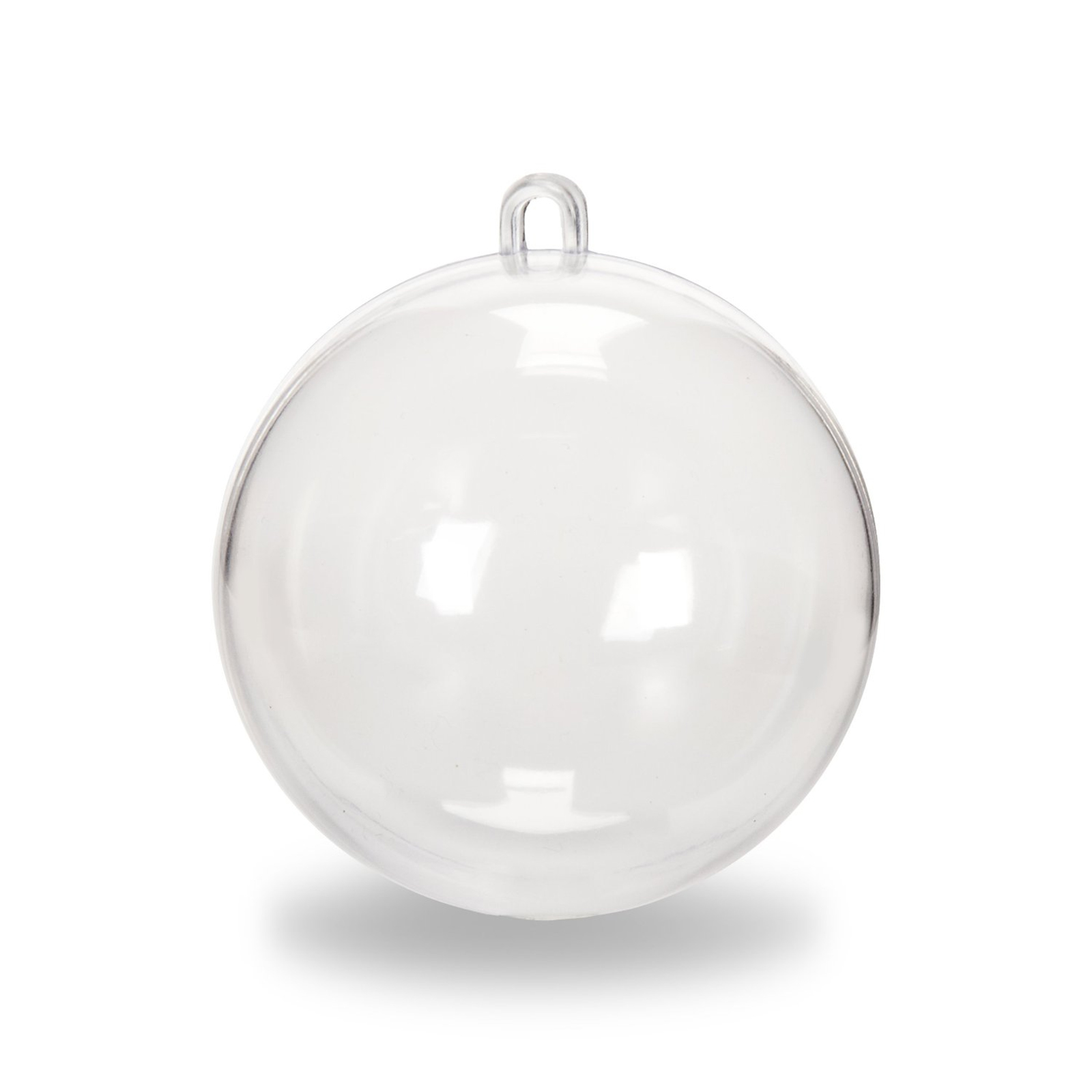 Clear fillable plastic ornaments - Clear Plastic Fillable Ball Ornaments Xmas Favor Candy Crafts 12 Pcs Sets