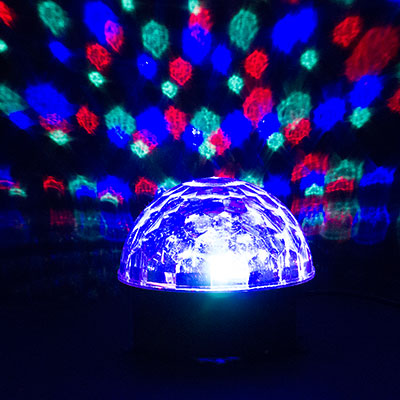 disco stage led rainbow color crystal magic effect dot