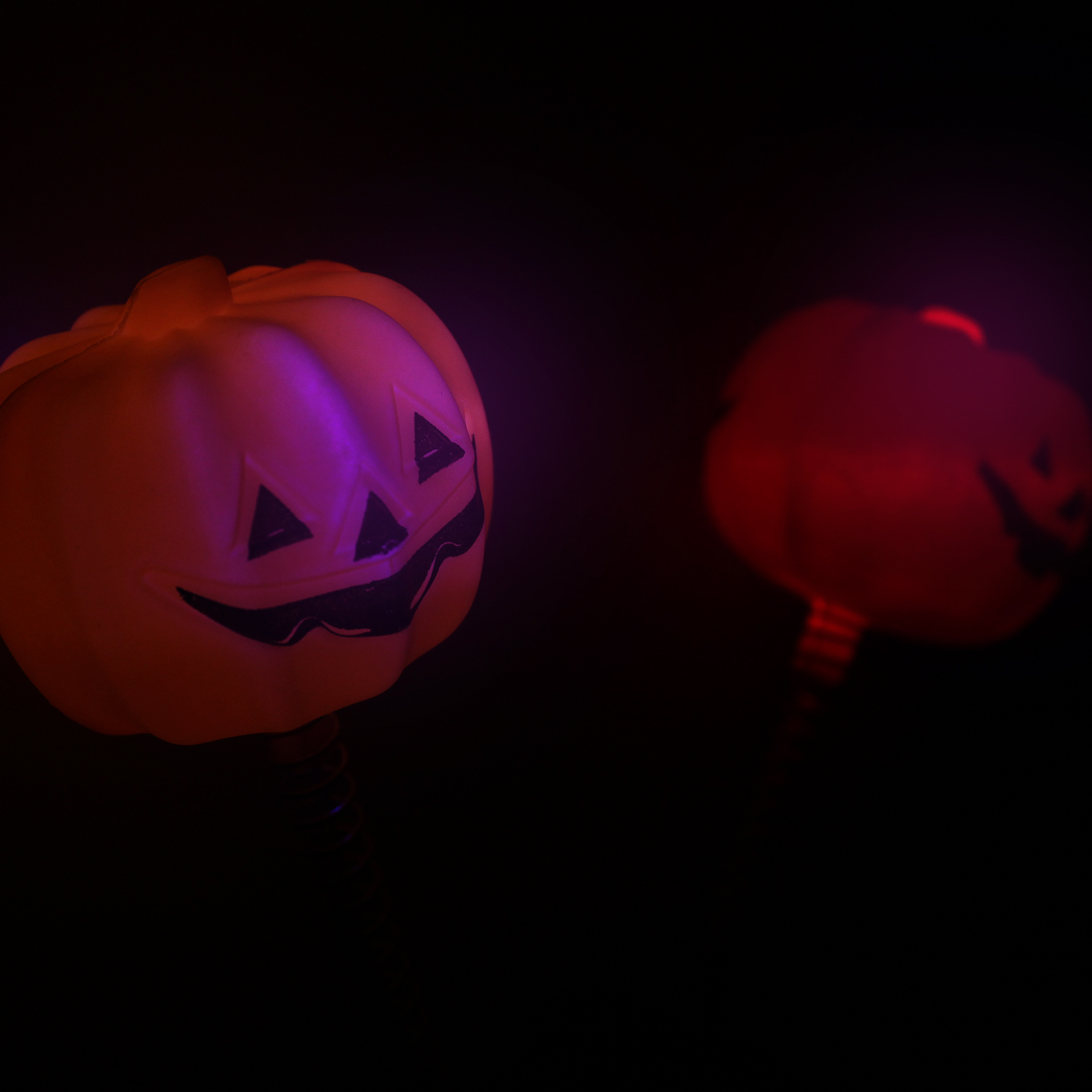 Led light up flashing pumpkins halloween party costume