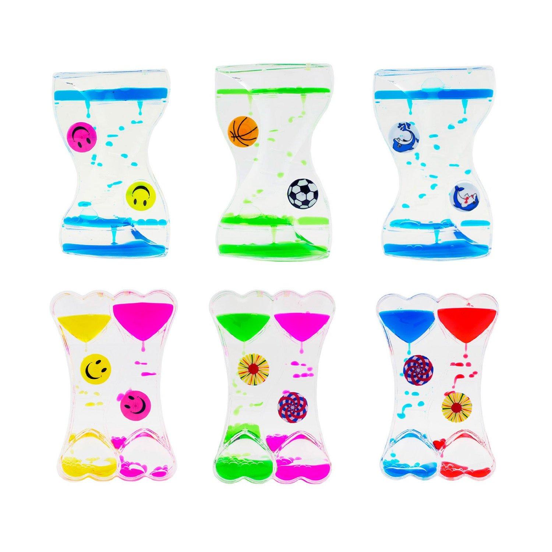 Colorful Liquid Lava Fidget Timer Oil Clock Kids Toy Party ...