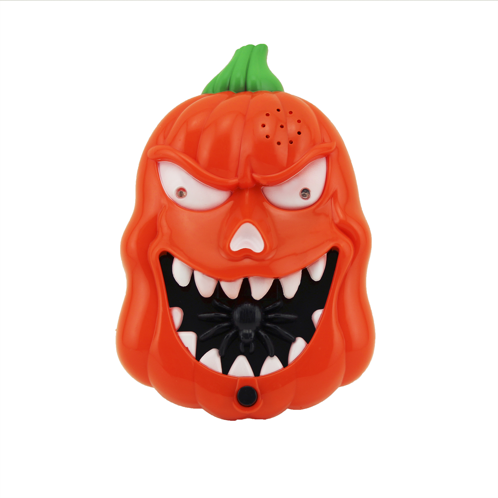 Animated Light Up Talking Pumpkin Door Bell Halloween  ~ 035658_Halloween Animated Door