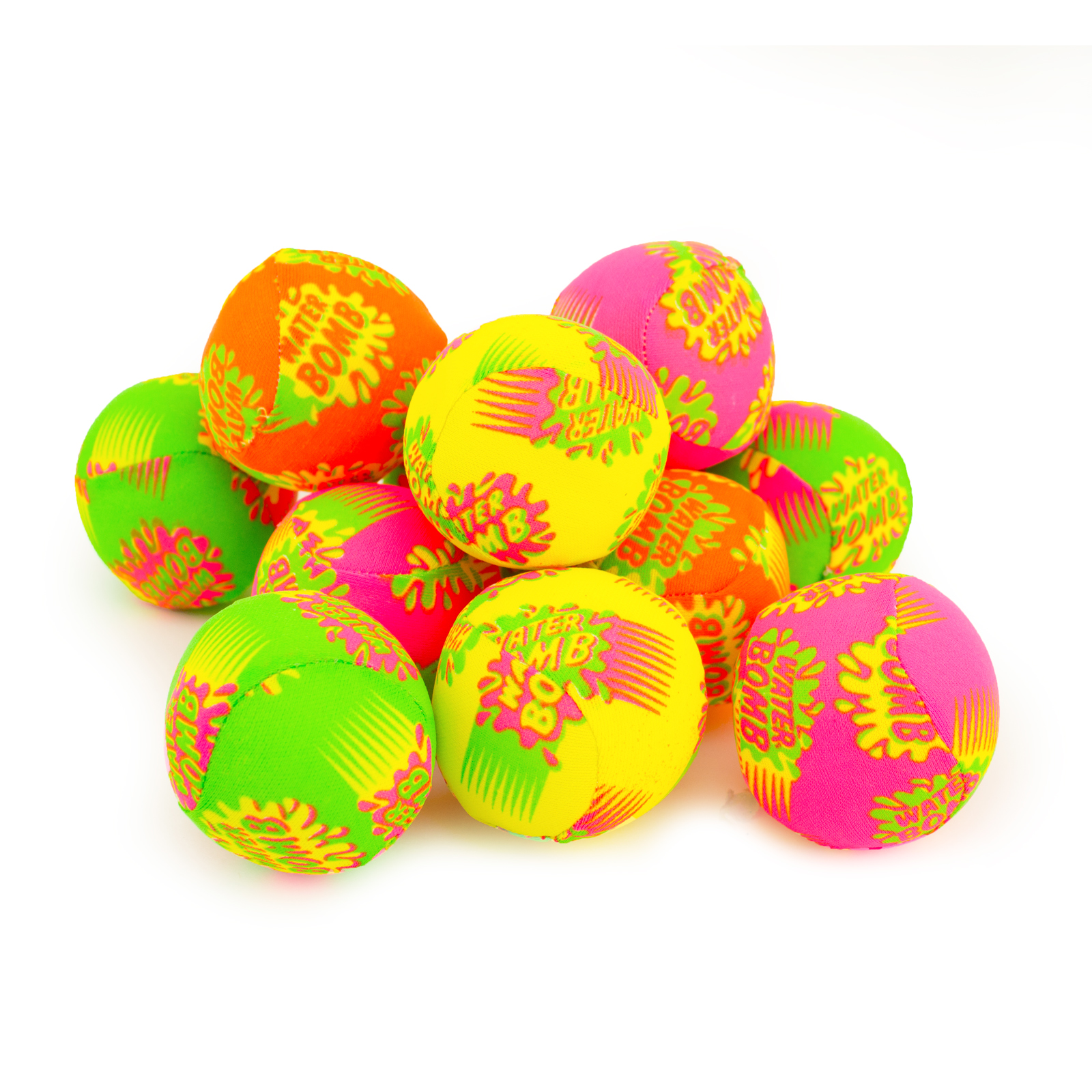 12 Multi Color Water Splash Balls Grenades Bombs Summer