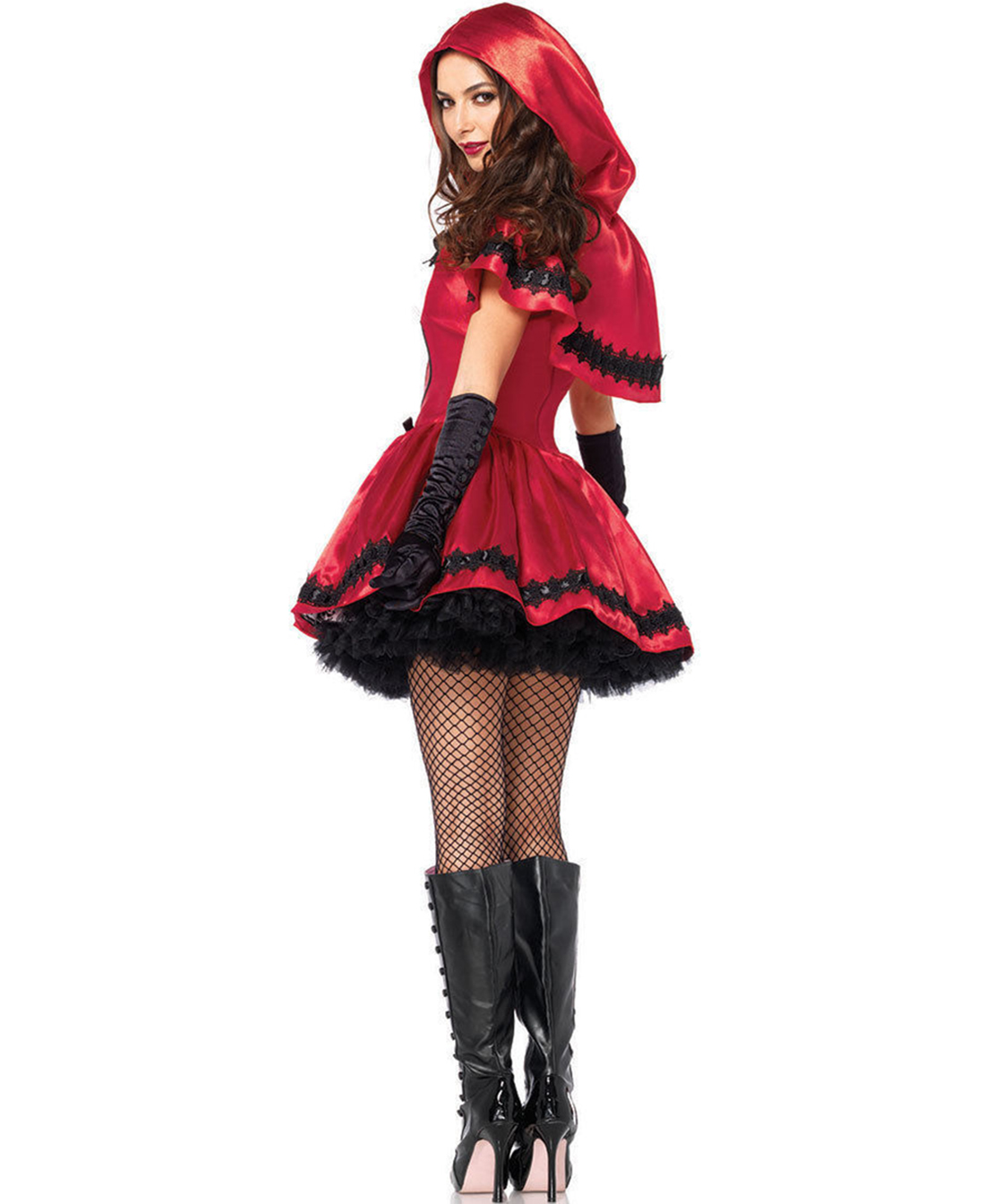 dark red riding hood costume women s gothic dark red