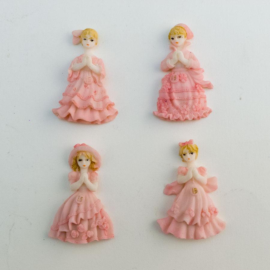 Cute quinceanera princess figurine favor for Wholesale quinceanera craft supplies