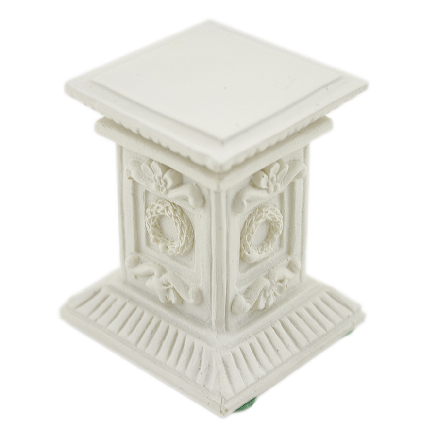 Ifavor123 Com Ornate Stone Pedestal Pillar White 24 99