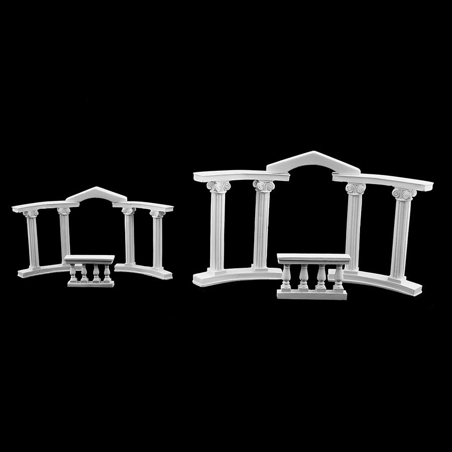 Romantic Roman Columns Wedding Cake Topper Decoration Accessory Supply Figurine