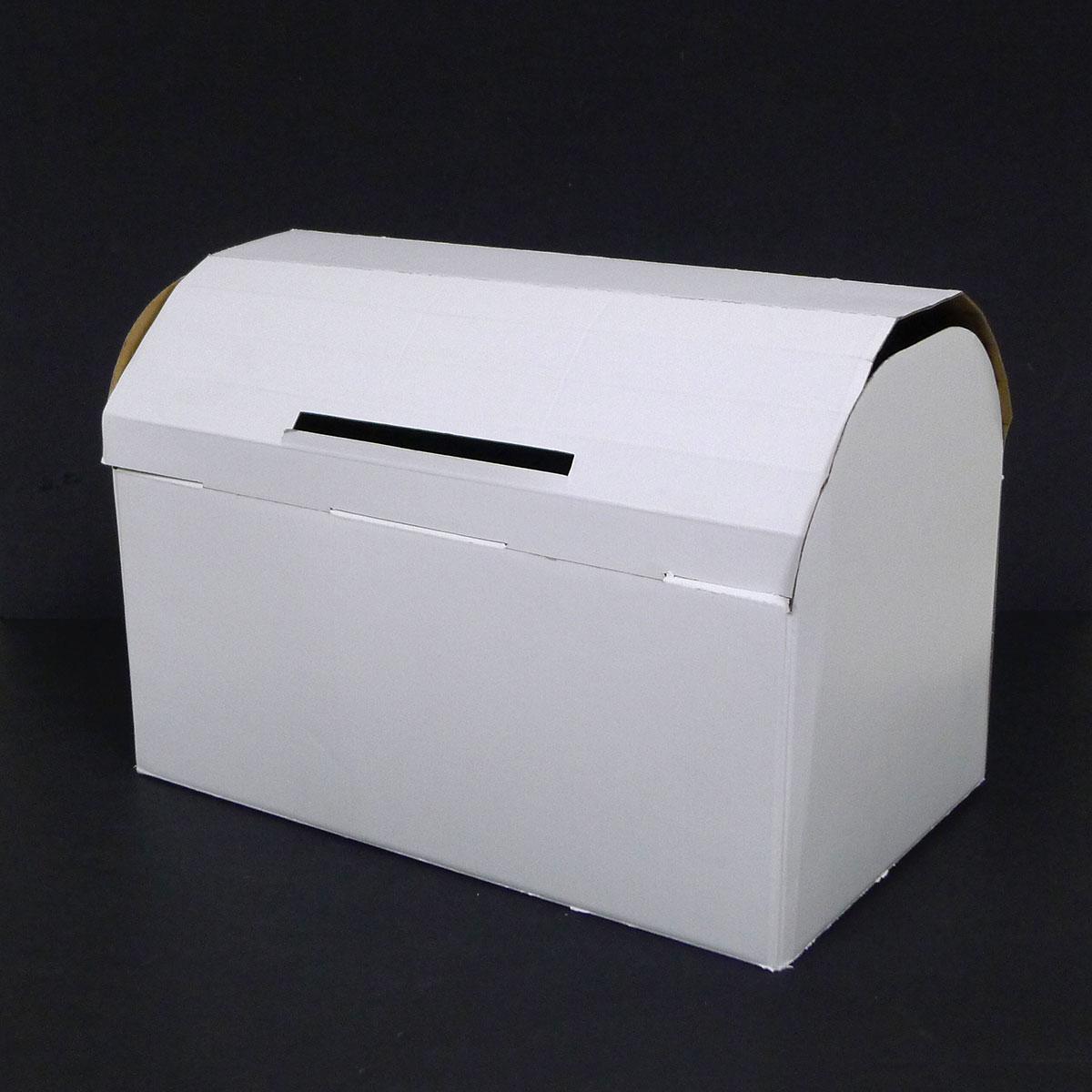 cardboard wishing well gift card treasure box money box. Black Bedroom Furniture Sets. Home Design Ideas