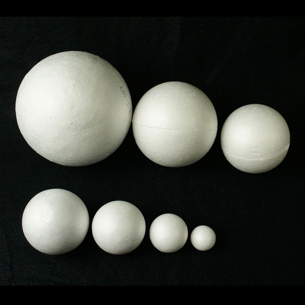 Foam ball craft - 8 Inch Foam Balls For Science Projects Parties Weddings Or Events
