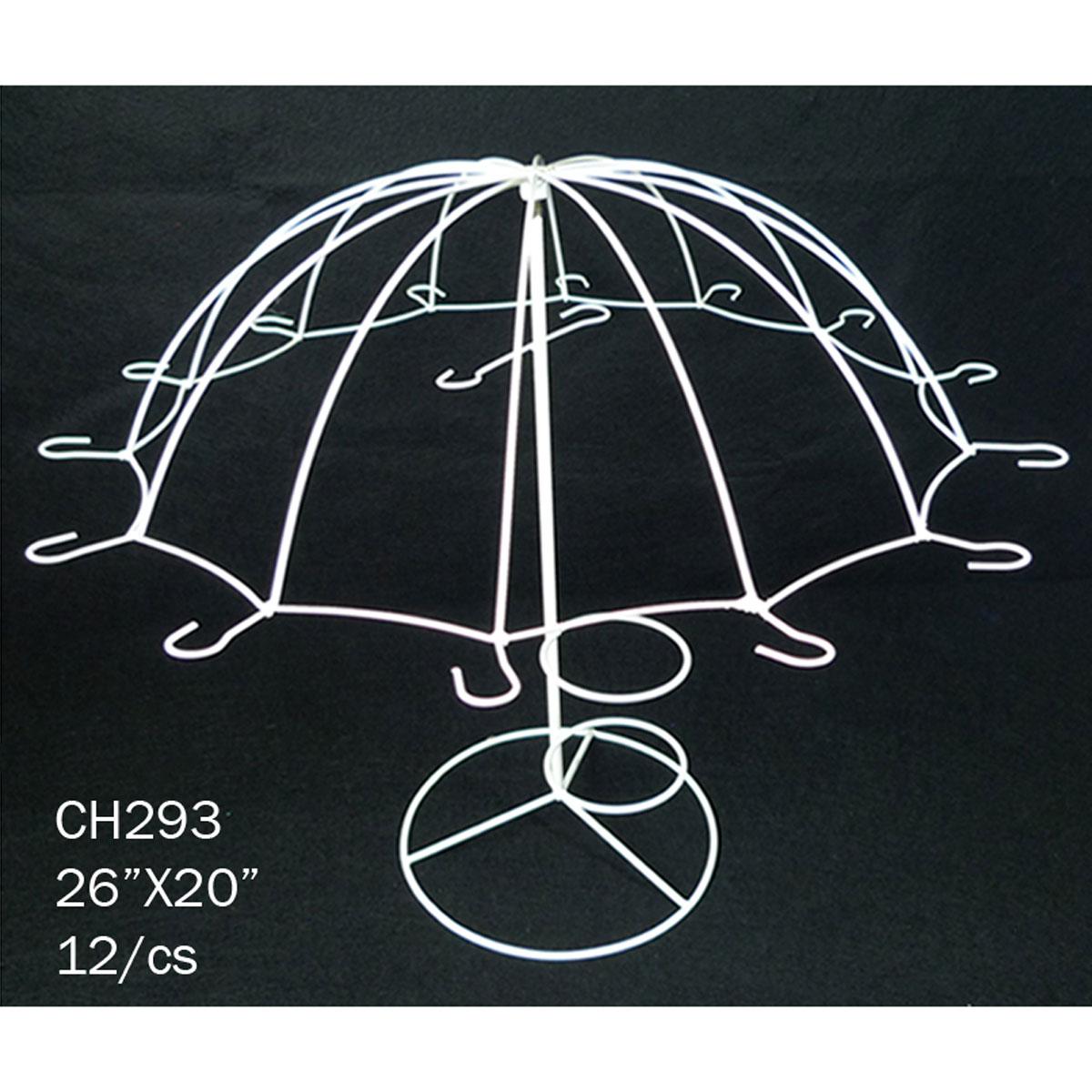 Ifavor123com Umbrella Party Centerpiece White Wire 6000