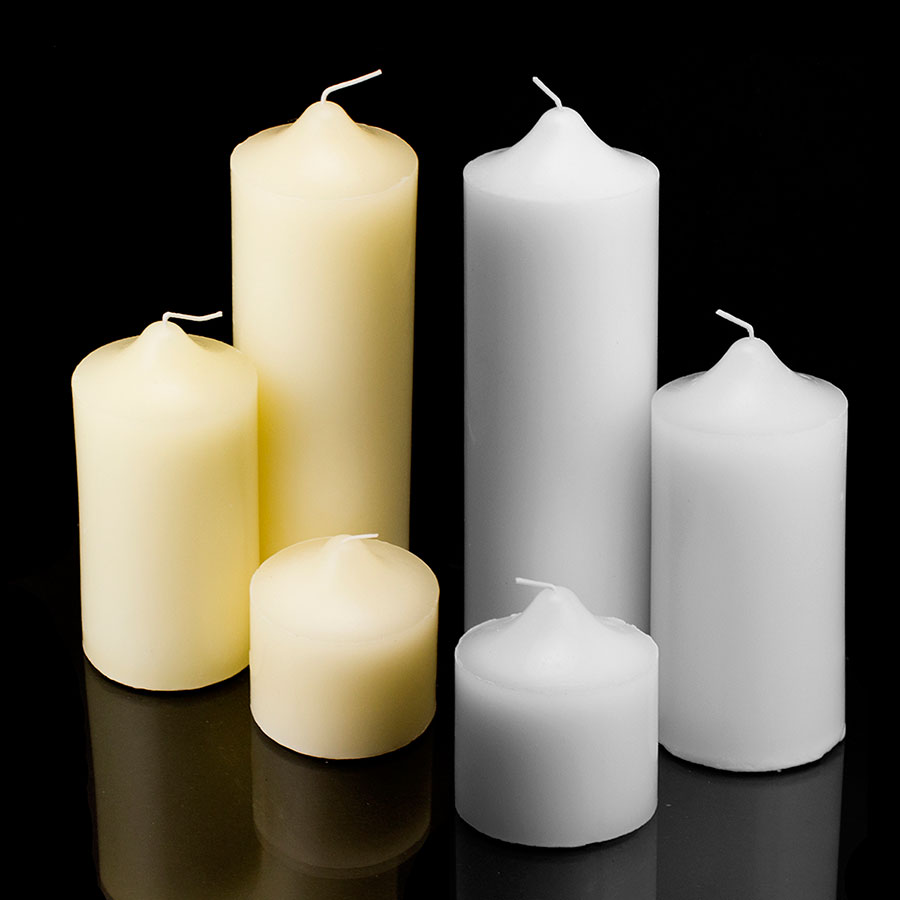 Http Www Ebay Com Itm New Pillar Wax Candles Candle Unscented Weddings Receptions Events Home Decor 281120736427