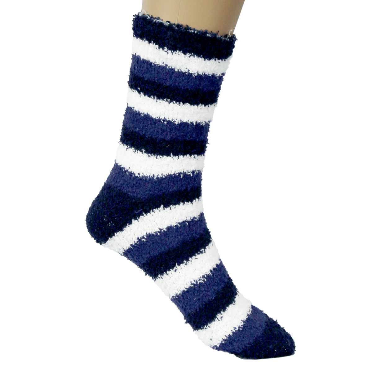 New Mens Warm Fuzzy Socks Striped Cool Fluffy Colorful ...