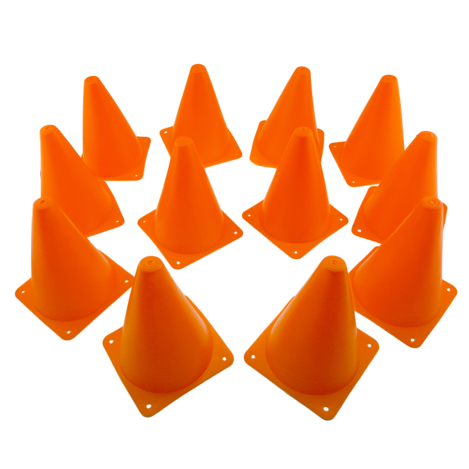 New Training Cones 7 Quot Tall Sports Orange Traffic Safety