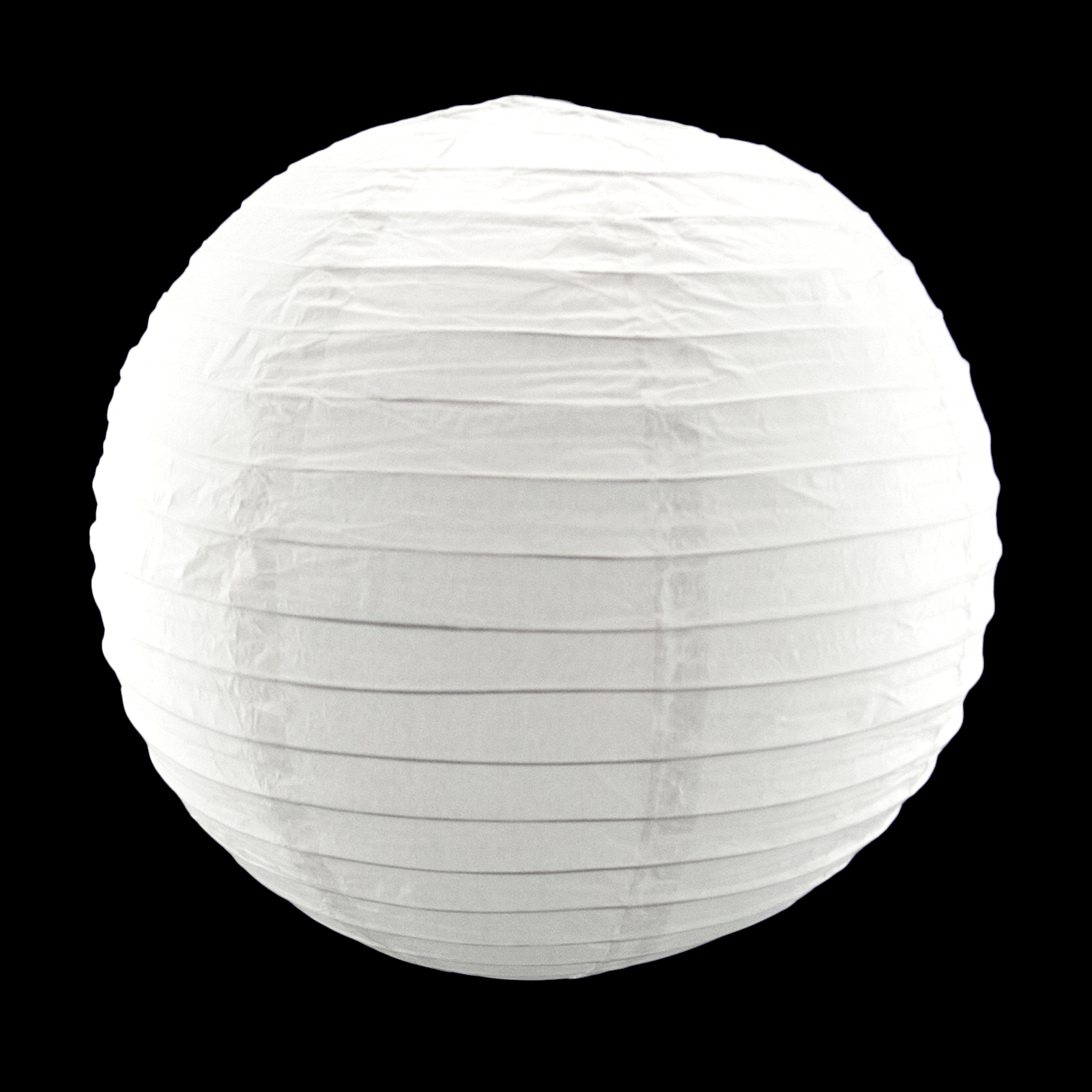 12 Inch White Round Paper Lantern Lamp Shade Party Home