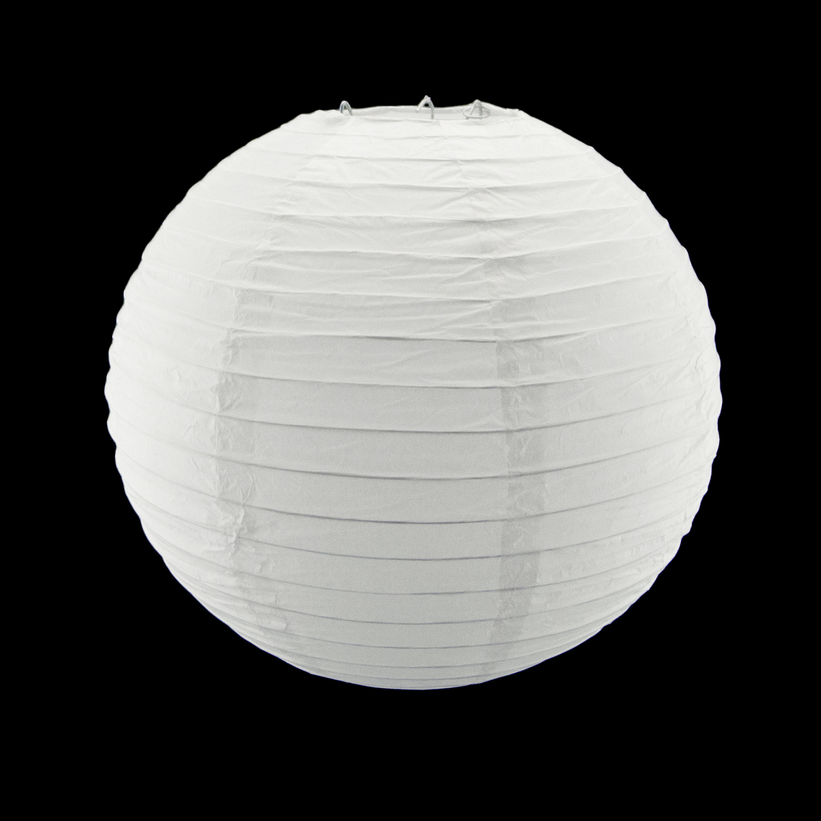 8 Inch White Round Paper Lantern Lamp Shade Party Home