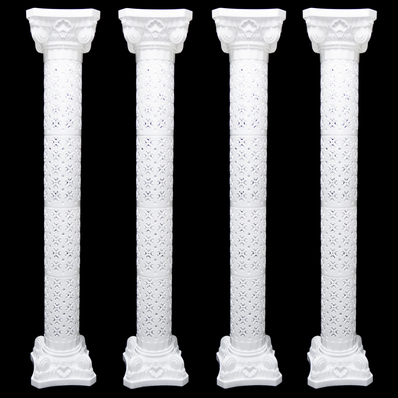 Wedding decorative plastic roman column height adjustable for Decorative columns