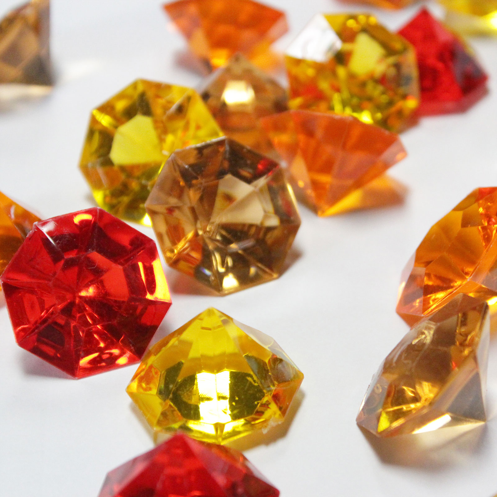 Ifavor123 assorted fall colors acrylic flat head diamond gem assorted fall colors acrylic flat head diamond gem table scatter vase filler minecraft pirate treasu reviewsmspy