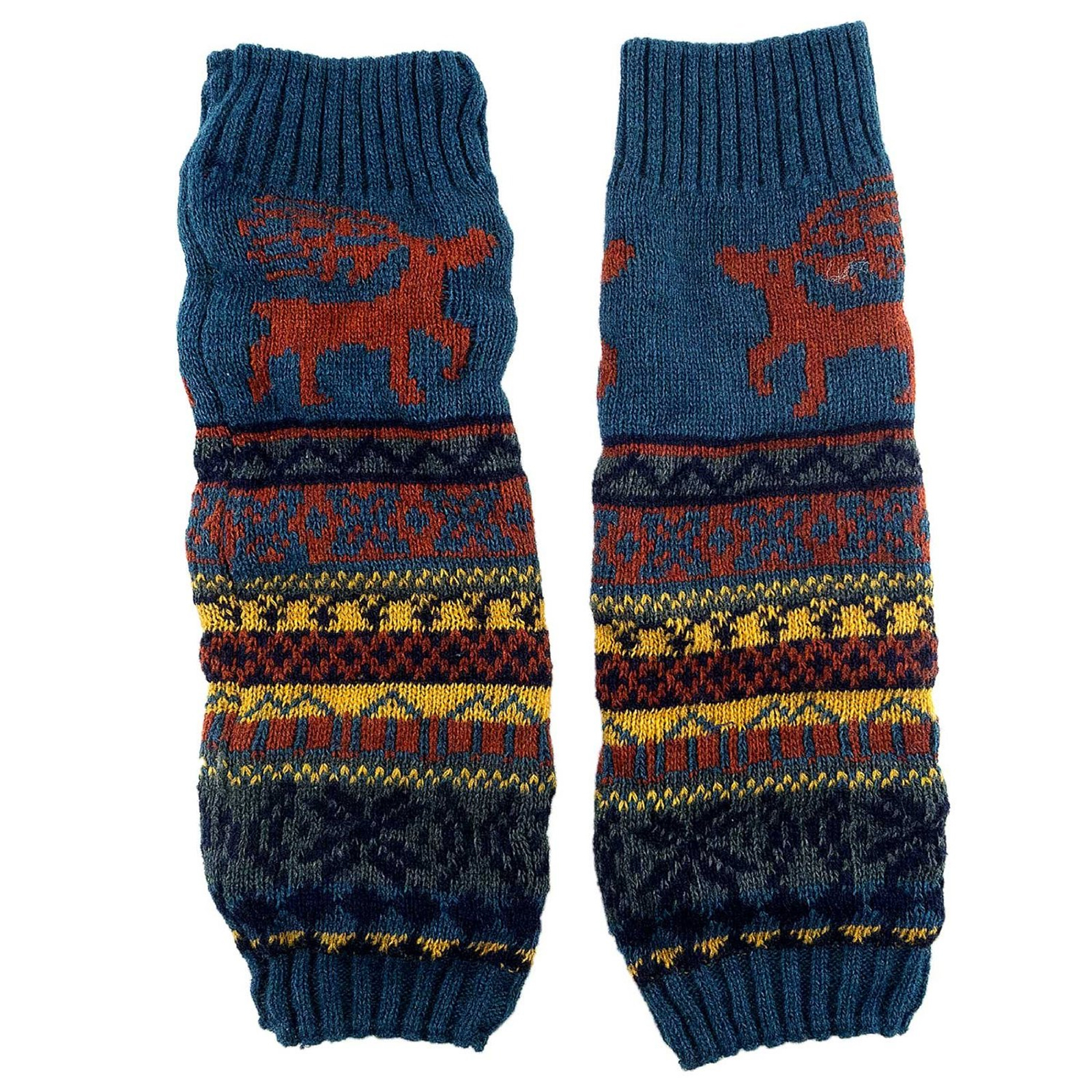Leg warmers cover women's lower legs. These look like socks but are thicker and often footless, and formerly an accessory you saw more in the 80's, ballet and classical dancers popularly continue to use these for support.