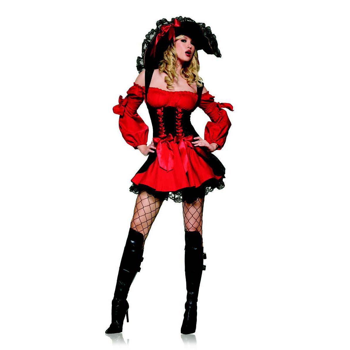Ifavor123com Sexy Swashbuckler Vixen Pirate Wench Womens Adult Halloween Costume 2950