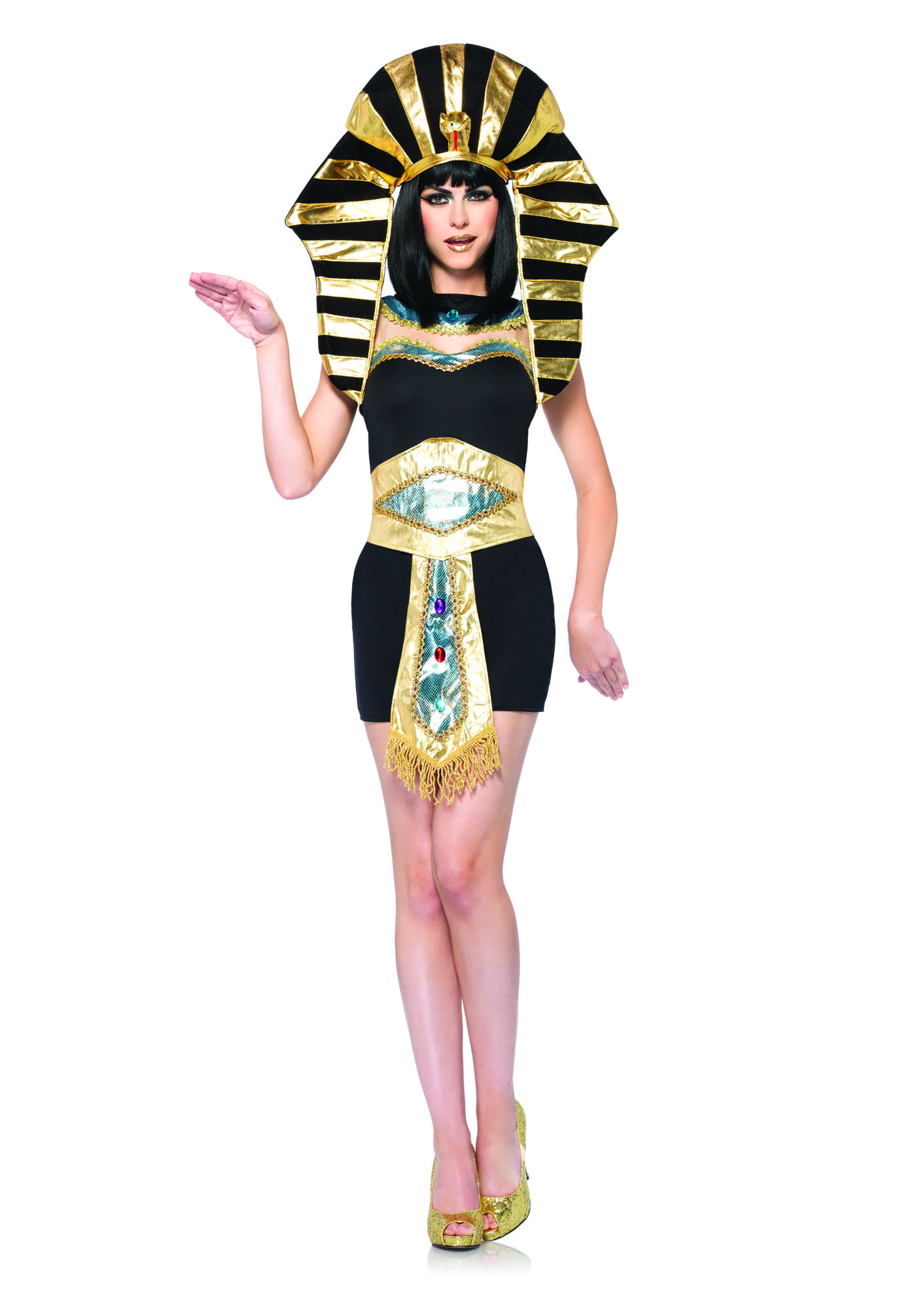 Leg Avenue Womens Sexy Egyptian Cleopatra Nile Queen ...
