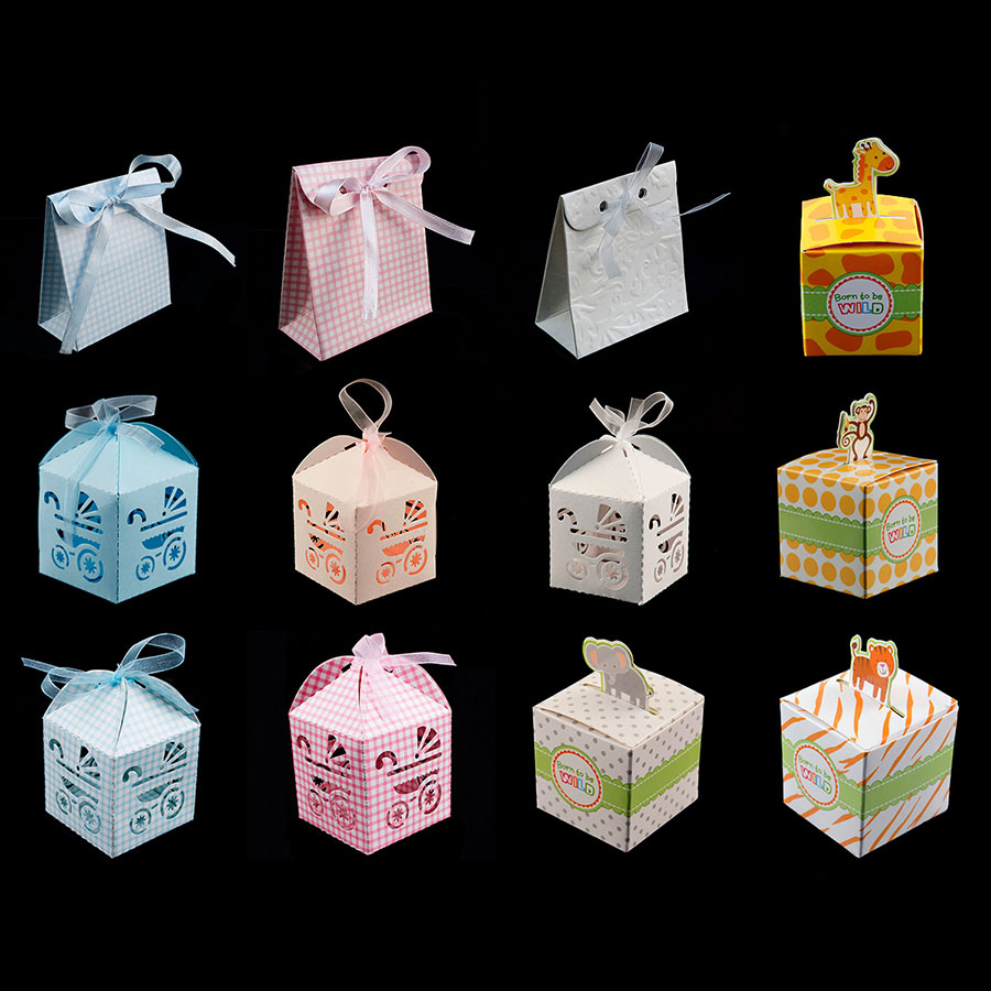 baby carriage favor candy box party baby shower decorations