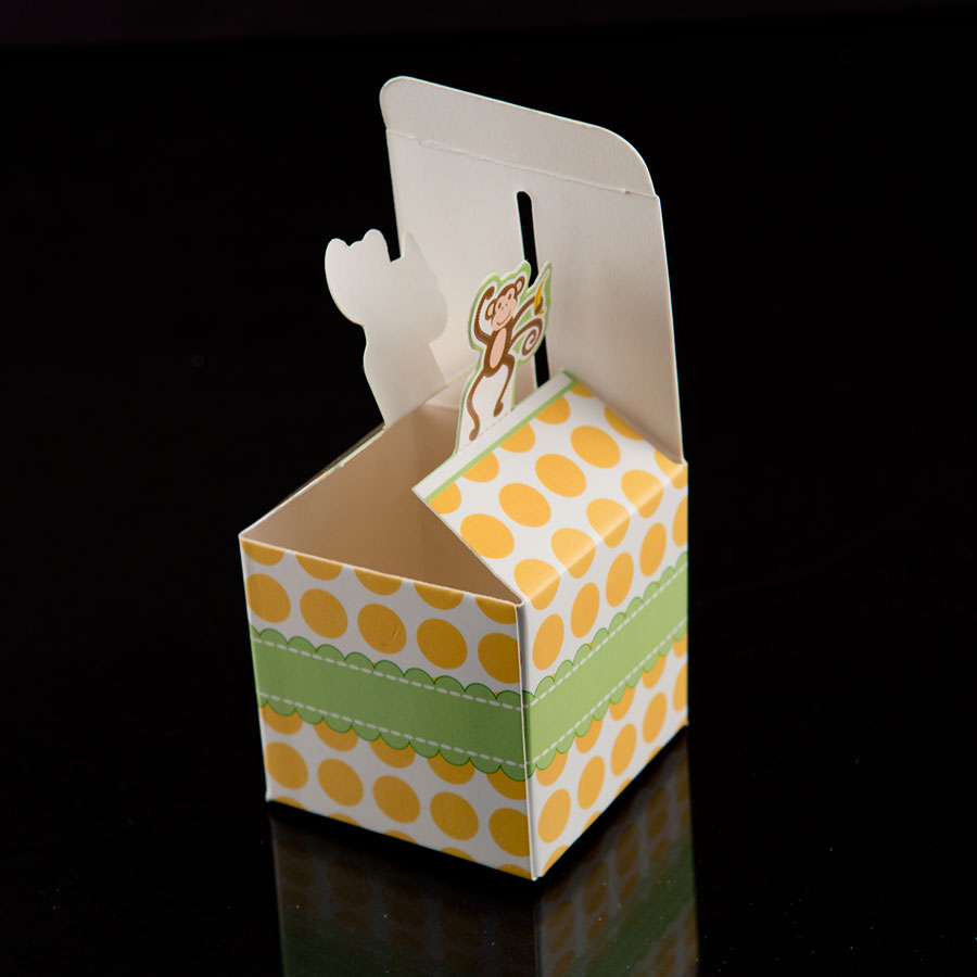 Boxes For Baby Shower Favors: 24 Monkey Born To Be Wild Jungle Baby Shower Favor Candy