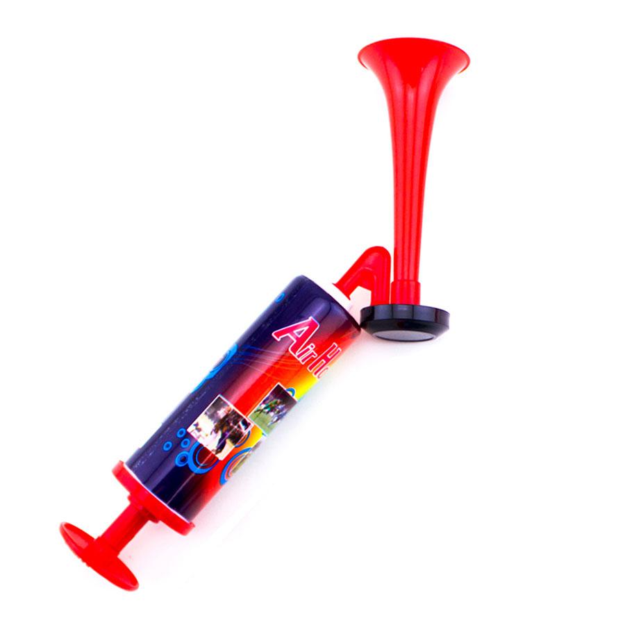 Hand Held Large Air Horn Pump Loud Noise Maker Safety ... Horns Ebay
