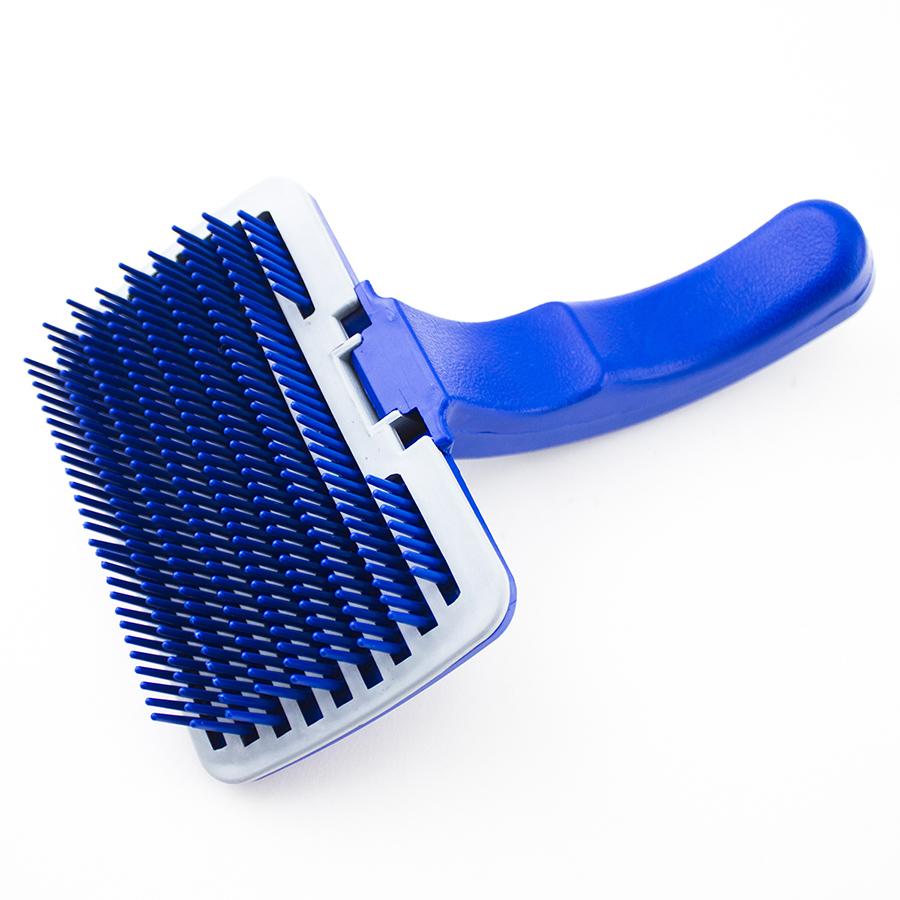 Pet Dog Cat Grooming Self Cleaning Slicker Brush Comb