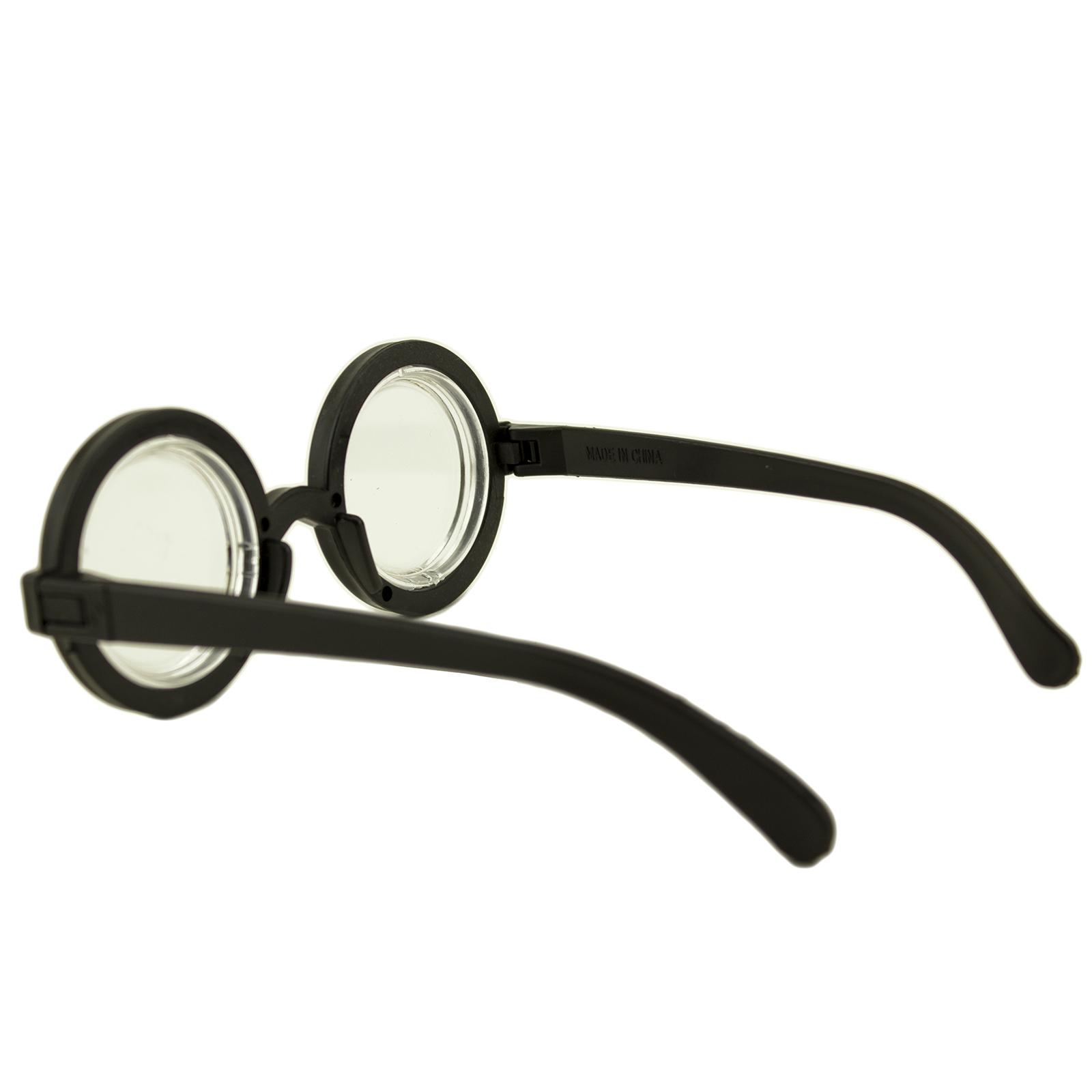 Halloween Round Nerd Eyeglasses Costume Party Favor Harry