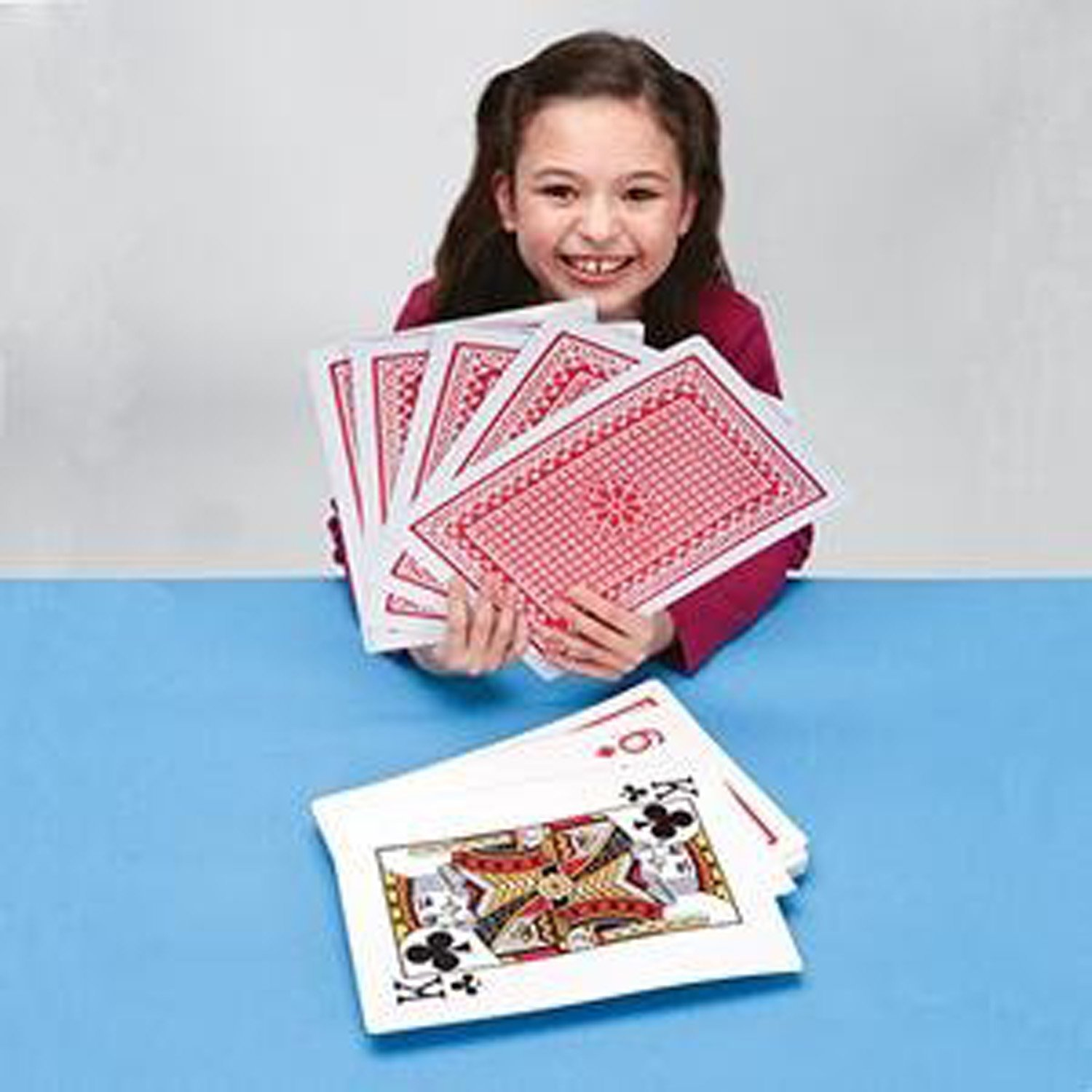 Jumbo Playing Cards 8 X 12 Inch Giant Size And Print New