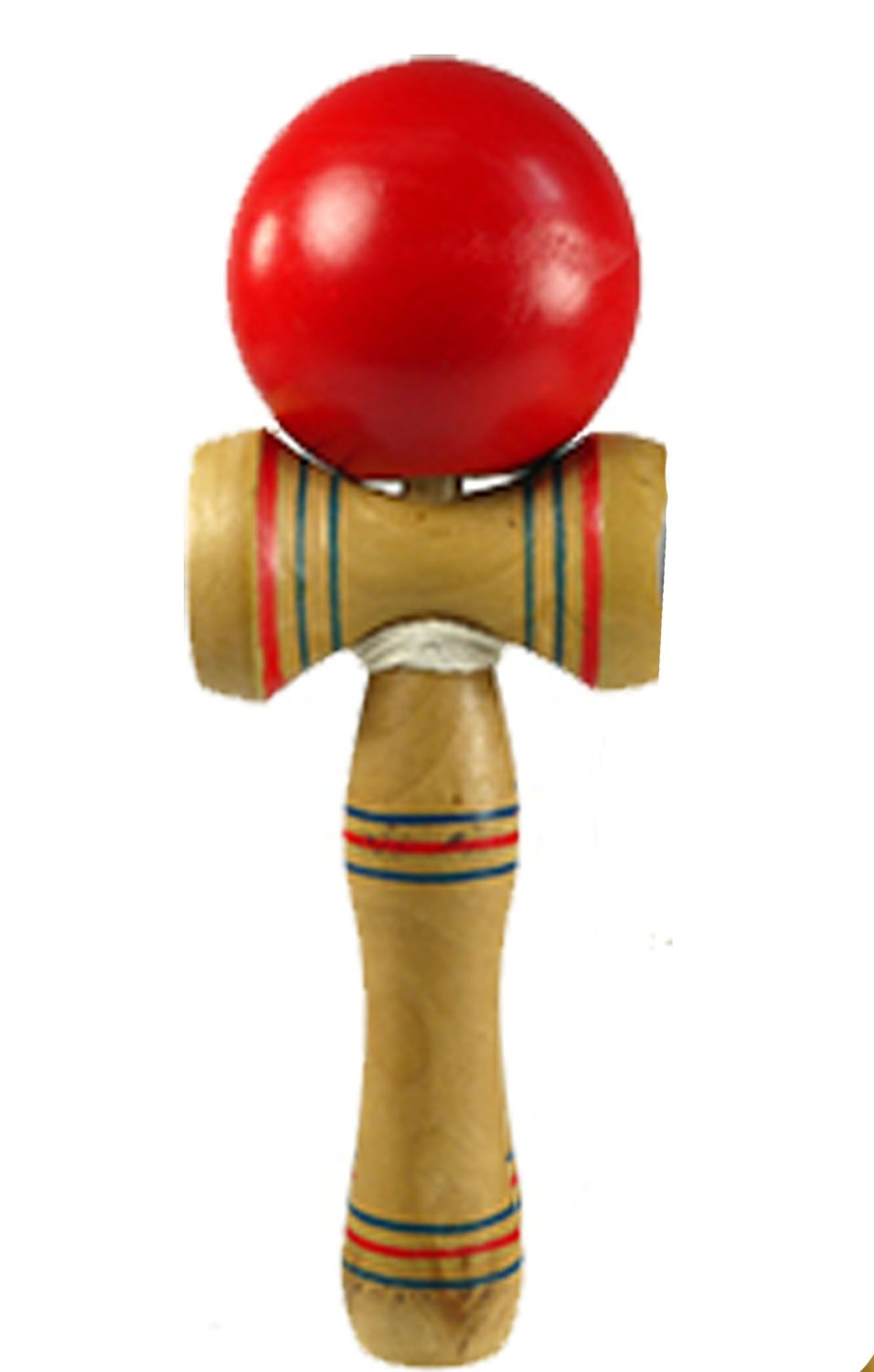 Japanese Wooden Toys : Standard size japanese kendama wooden wood toy ball string