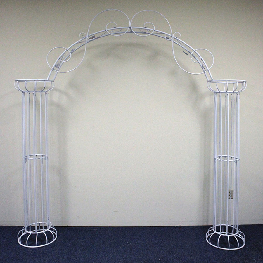 Beautiful Wedding Arch Display Column