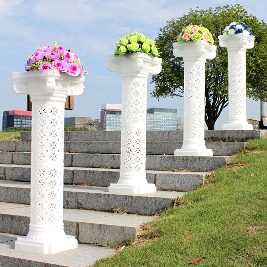 Types Of Roman Columns : Wedding decorative plastic roman column height adjustable
