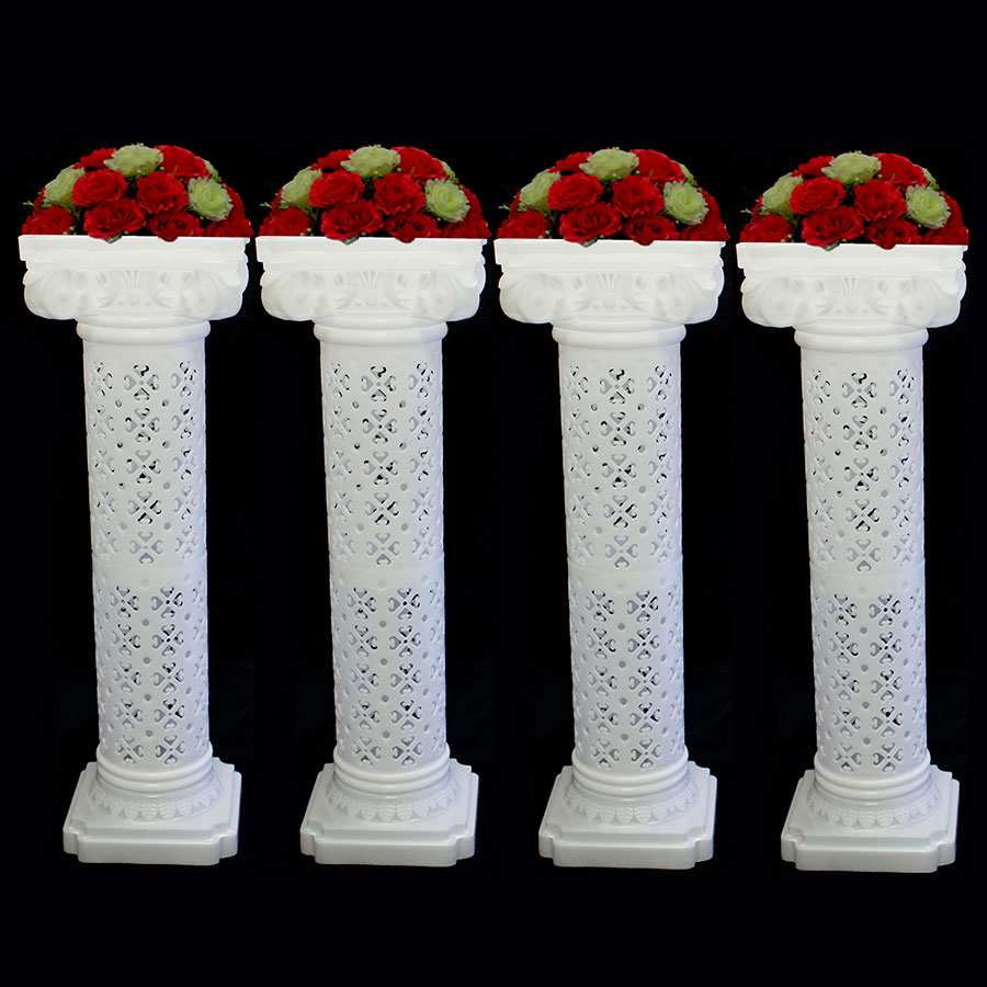 Wedding Decorative Plastic Roman Column Height Adjustable