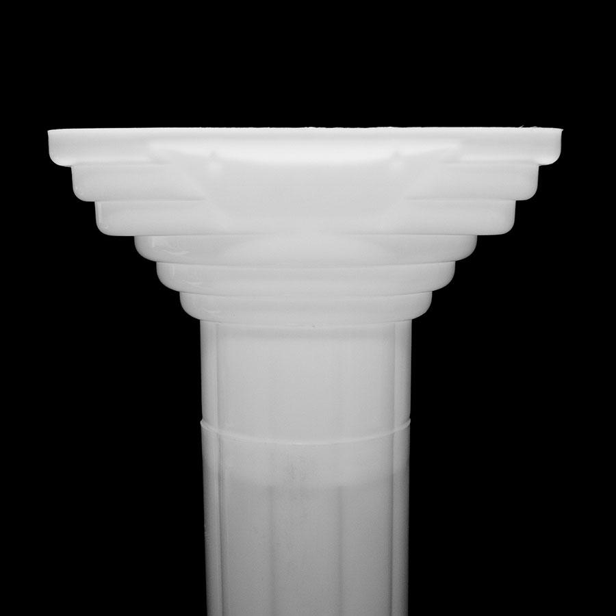 Decorative wedding roman column height adjustable plastic for Decorative columns