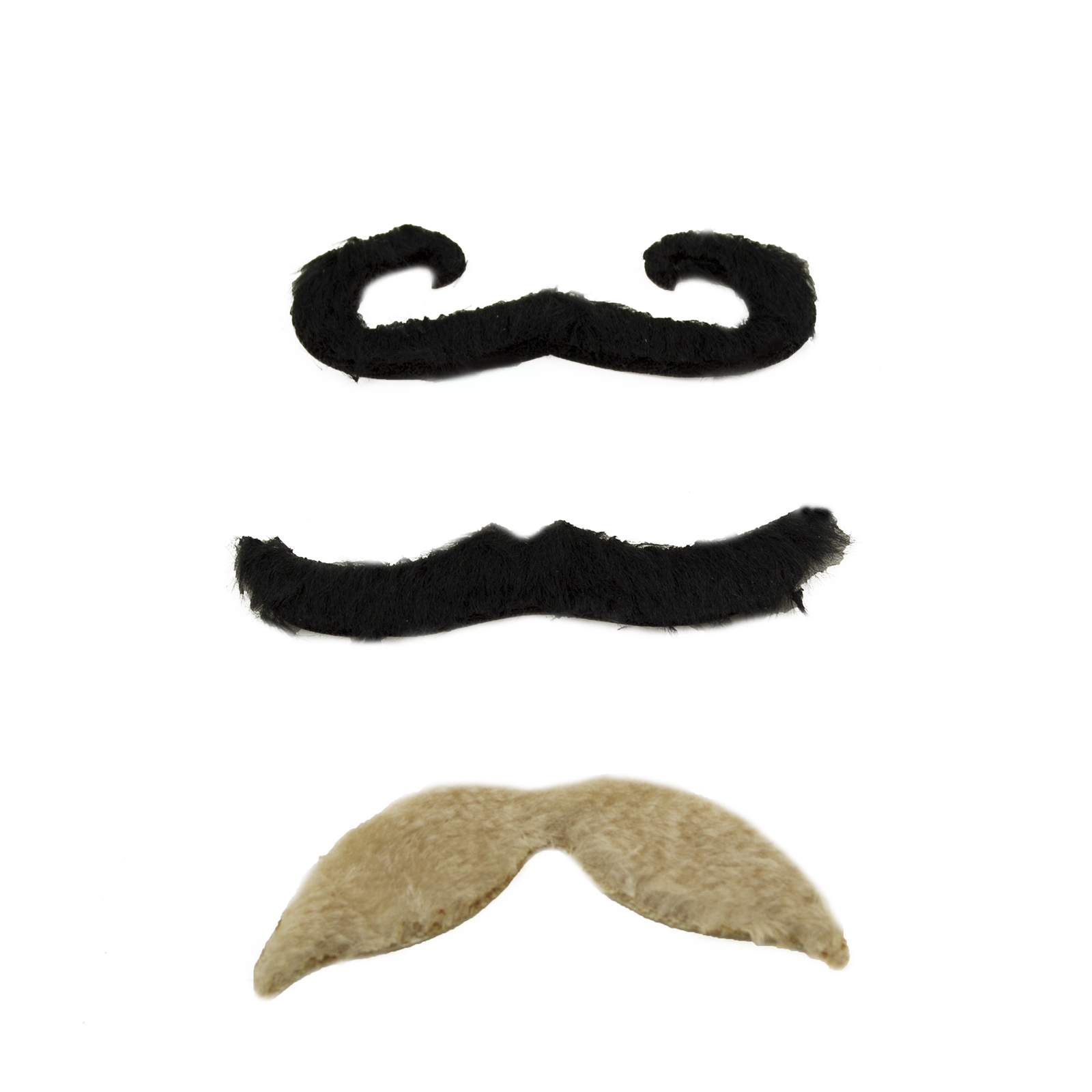 how to make a fake handlebar mustache