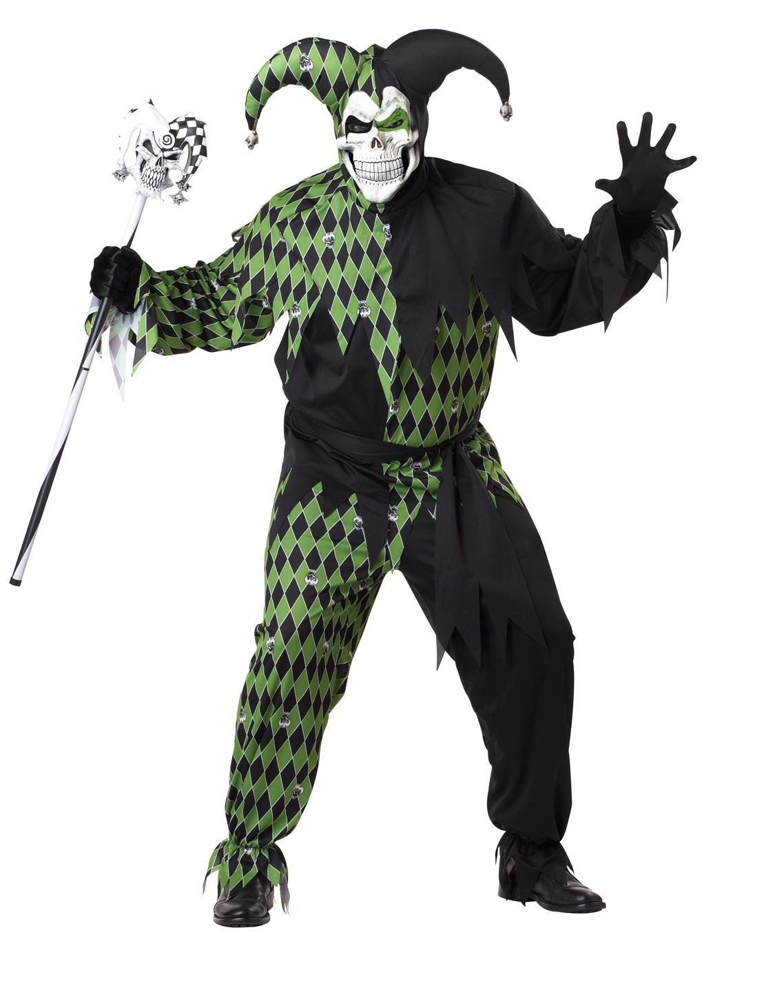 Men&#39;s <b>Jokes</b> On <b>You</b> Joker Jester Clown Halloween <b>Costume</b> Set Mask ...