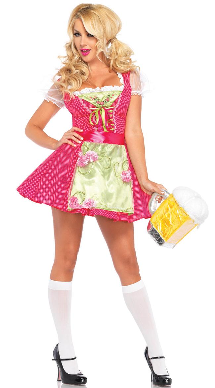 Leg Avenue BEER GARDEN GRETEL Oktoberfest Roleplay Dress ...