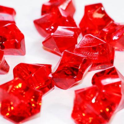 Acrylic Rocks chips table scatter confetti Vase filler floral arranging 5oz//bag
