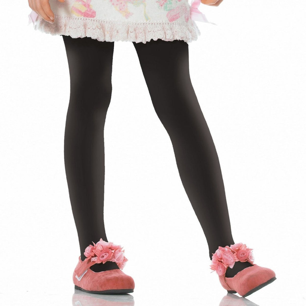 779ab9bef8d Black Opaque Child Tights Leg Avenue Enchanted Costumes. IPC4646. Children s  opaque tights