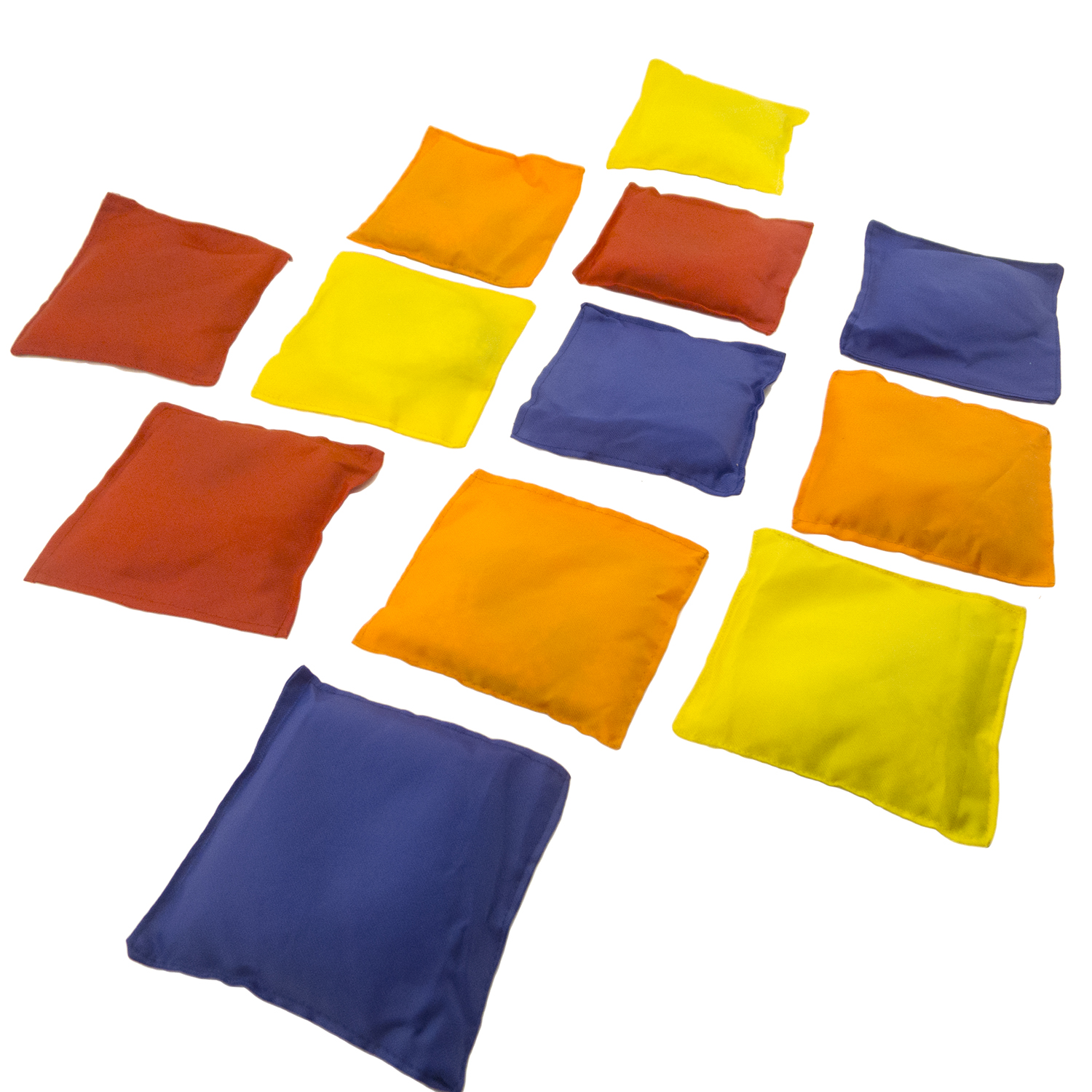 12pk Nylon 5 Bean Bags Cornhole Bag Toss Game Baggo