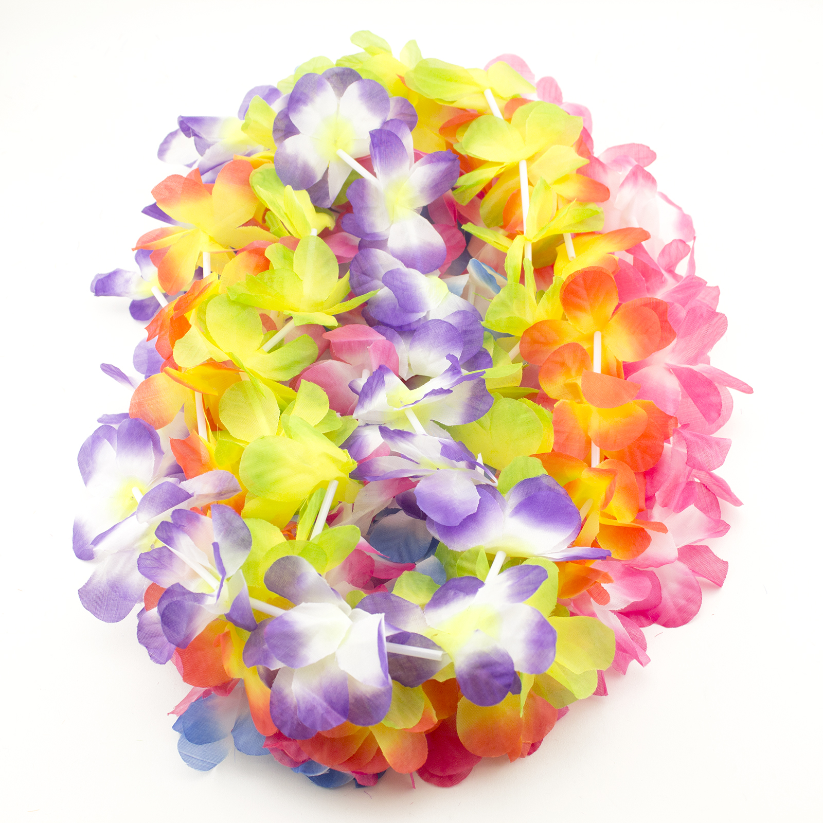 Simulated Luau Leis Flower Moana Party Decorations Pool Beach Party Jungle Theme