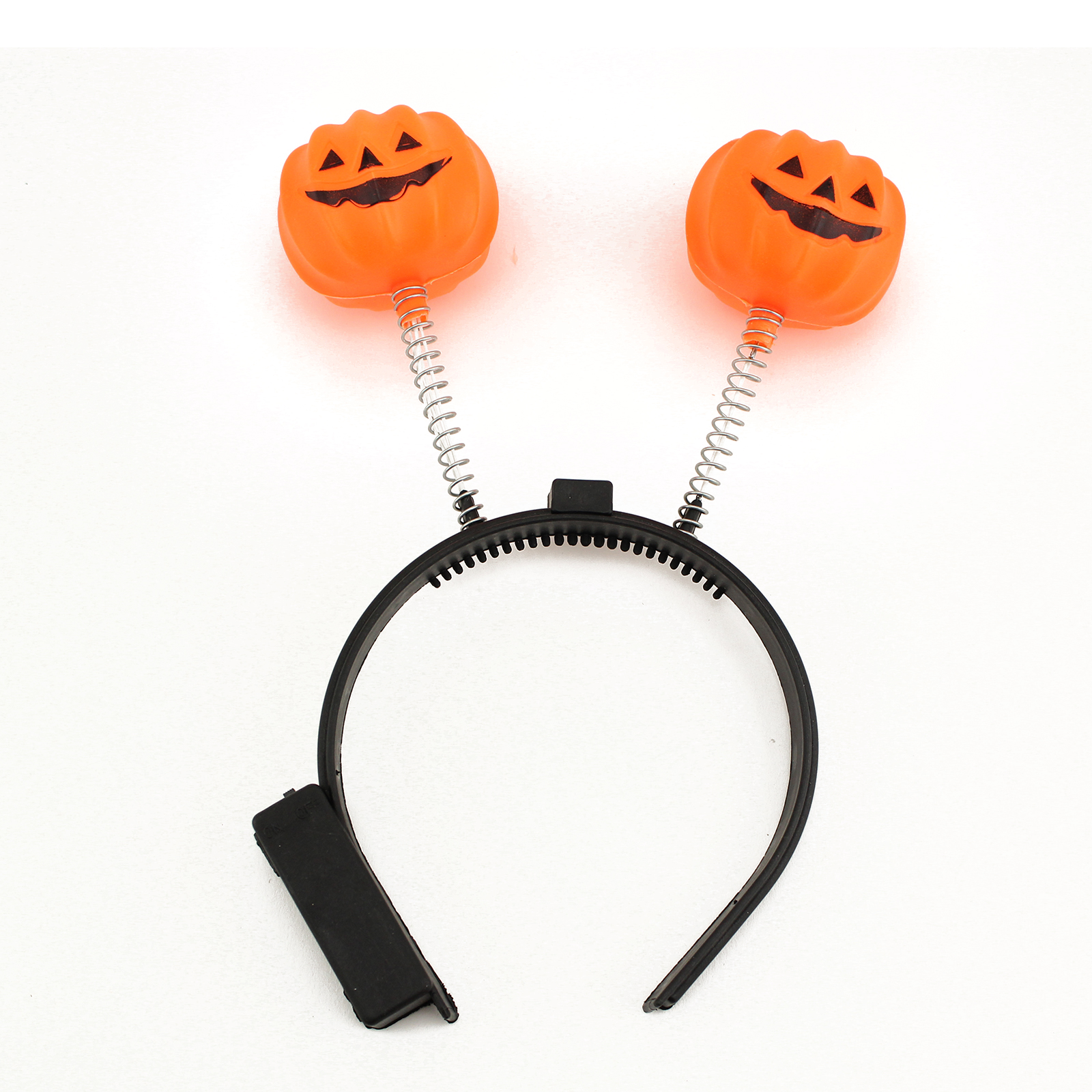 halloween led light up pumpkin headband