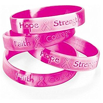 T Cancer Awareness Bracelets