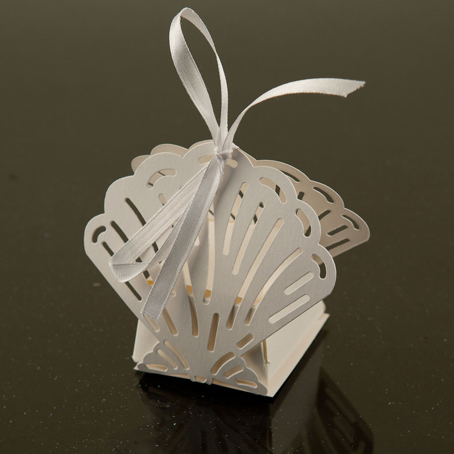Ifavor123 Sea Shell Favor Candy Box Party Wedding Decorations